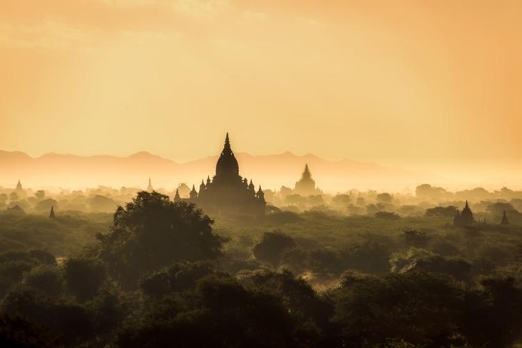 Myanmar Skyline