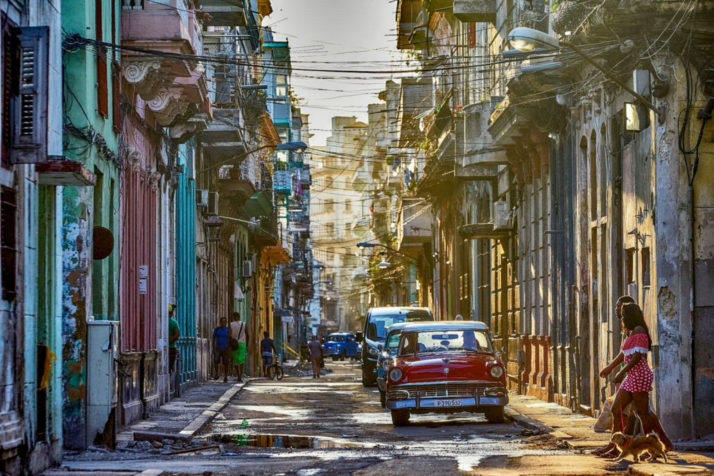 Busy Havana Street