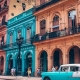 Colourful Cuba Houses