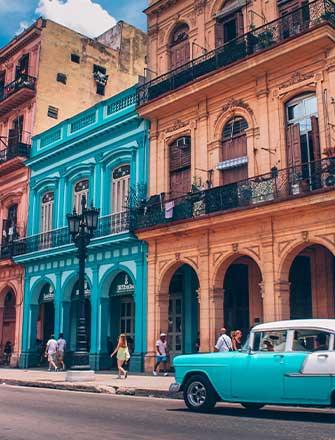Colourful Cuba Houses