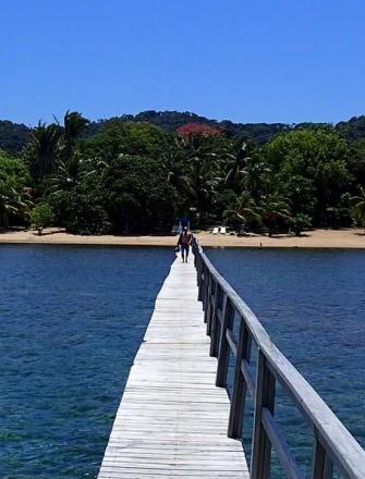 Pier in Roatan