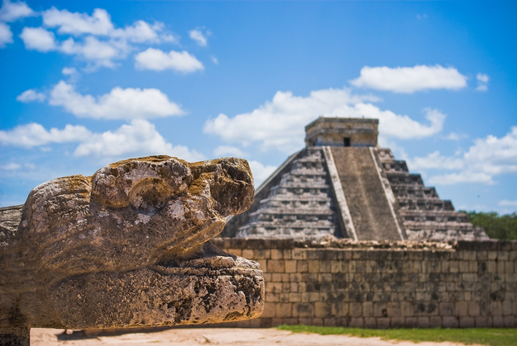 Mayan Temple Mexico