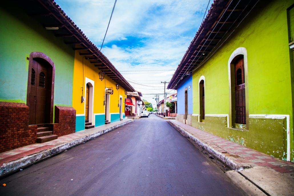 Street in Nicaragua
