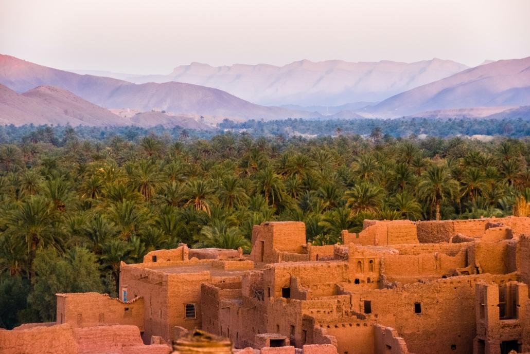 Ancient Morocco City