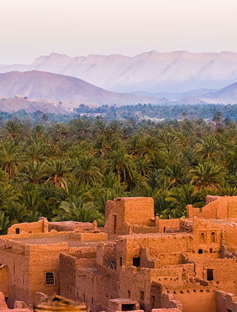 Ancient Morocco City