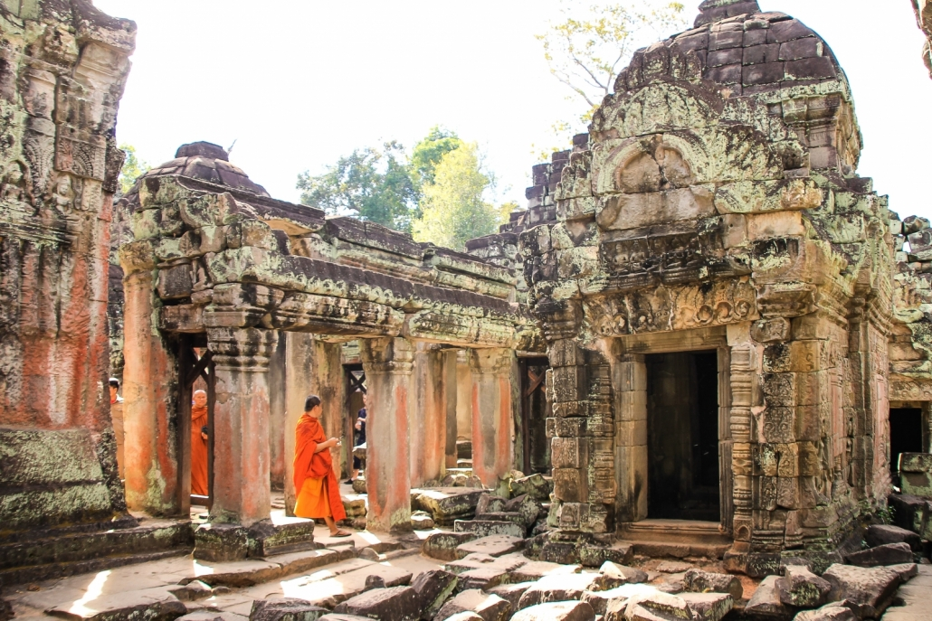 Angkor Wat Priest