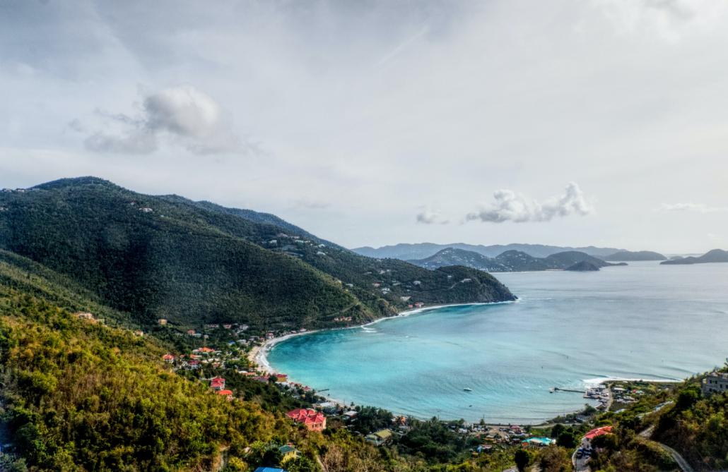 Bay in British Virgin Islands