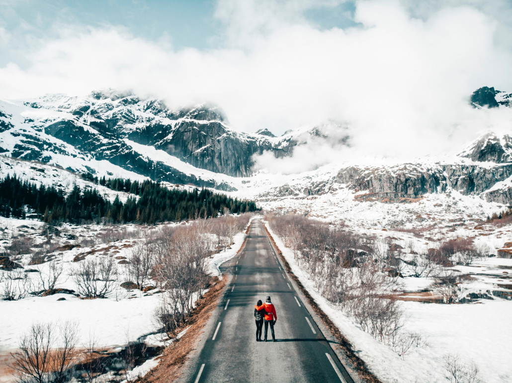 Couple in Norway